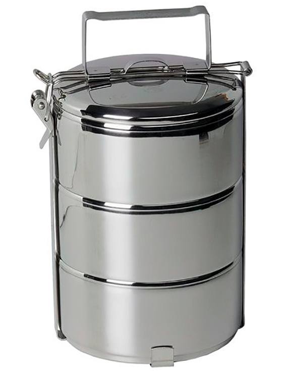 Portavianda acero inoxidable 3600 ml ecomarkperu for Menaje acero inoxidable