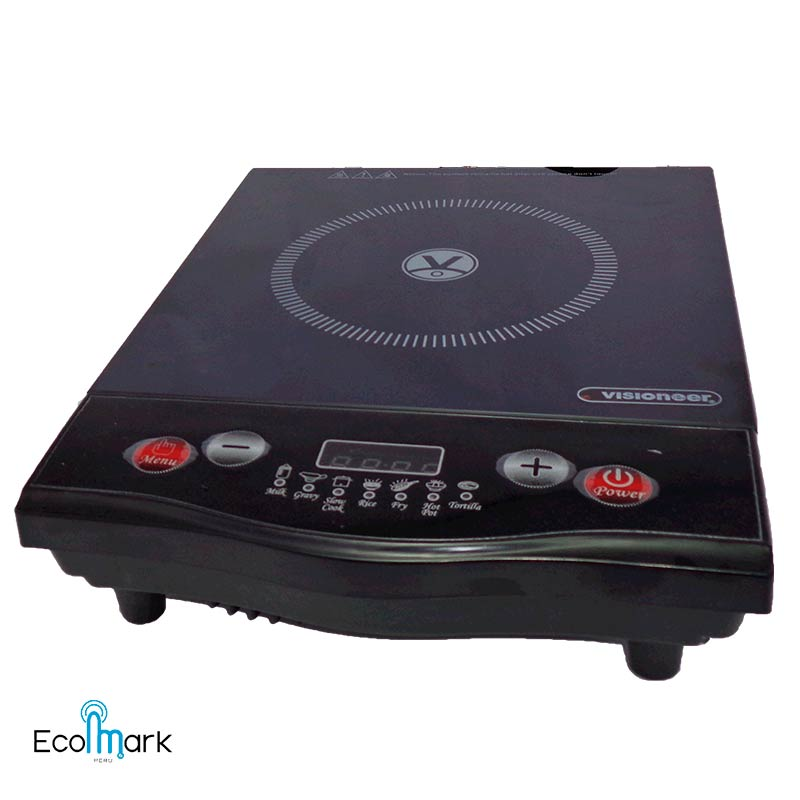 Cocina De Induccion Visioneer 1600 Watts Ecomarkperu